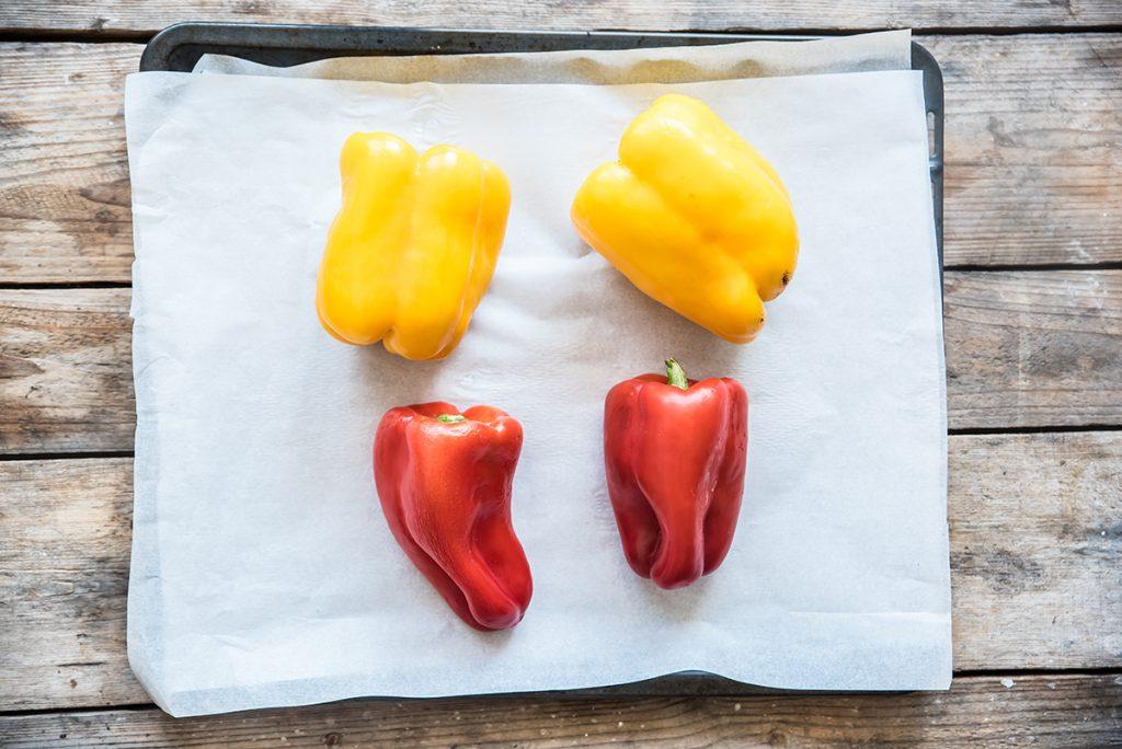 I peperoni sott'olio: la ricetta