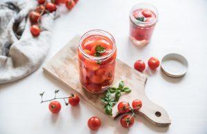 Pomodori in salamoia
