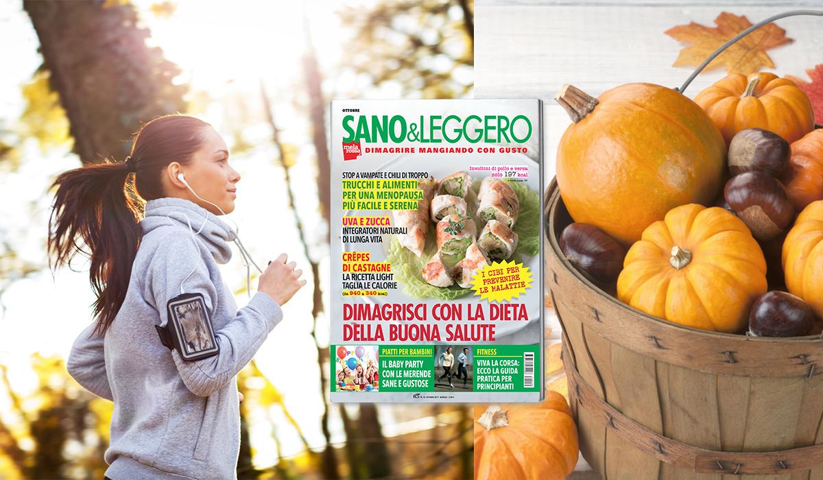 Sano & Leggero ottobre in edicola