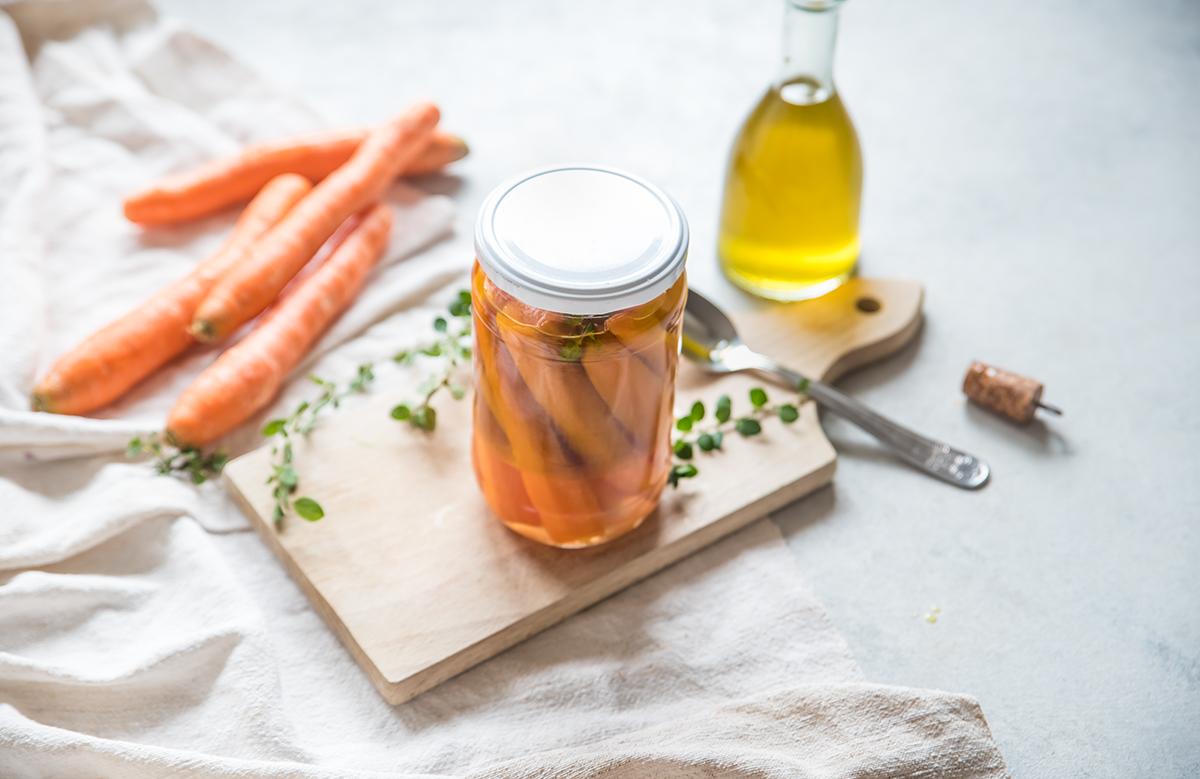 carote, in agrodolce