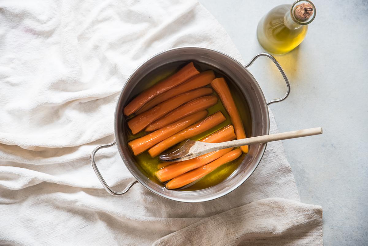 ricetta carote in agrodolce