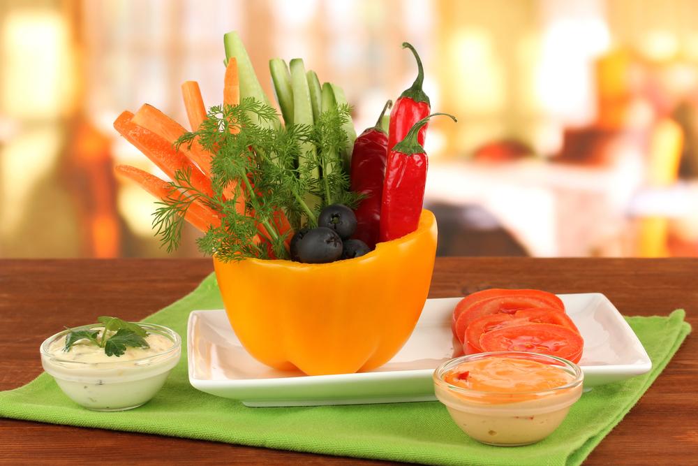 carote: pinzimonio