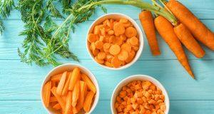 carote: proprietà, benefici e ricette light