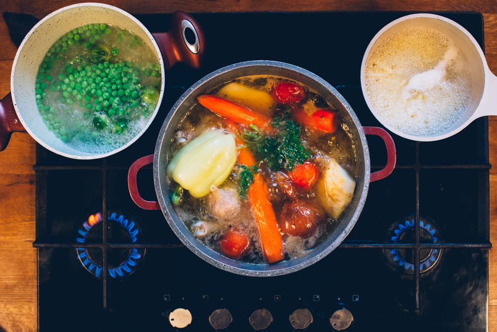 dimagrire in salute bollire verdure