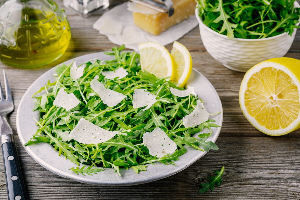 dimagrire in salute rucola