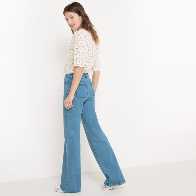 Jeans flare: la Redoute