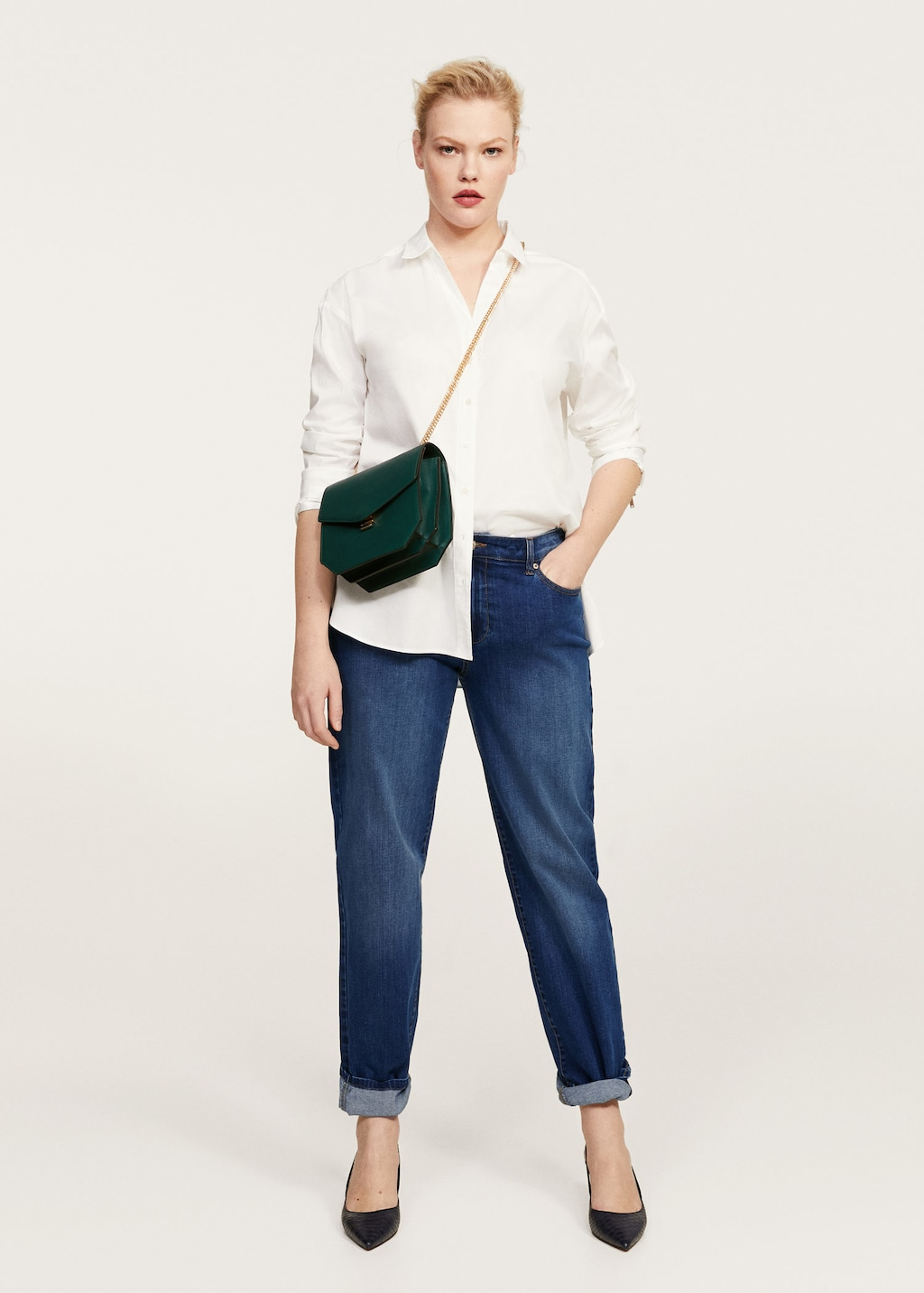 jeans relaxed: Violetta by Mango