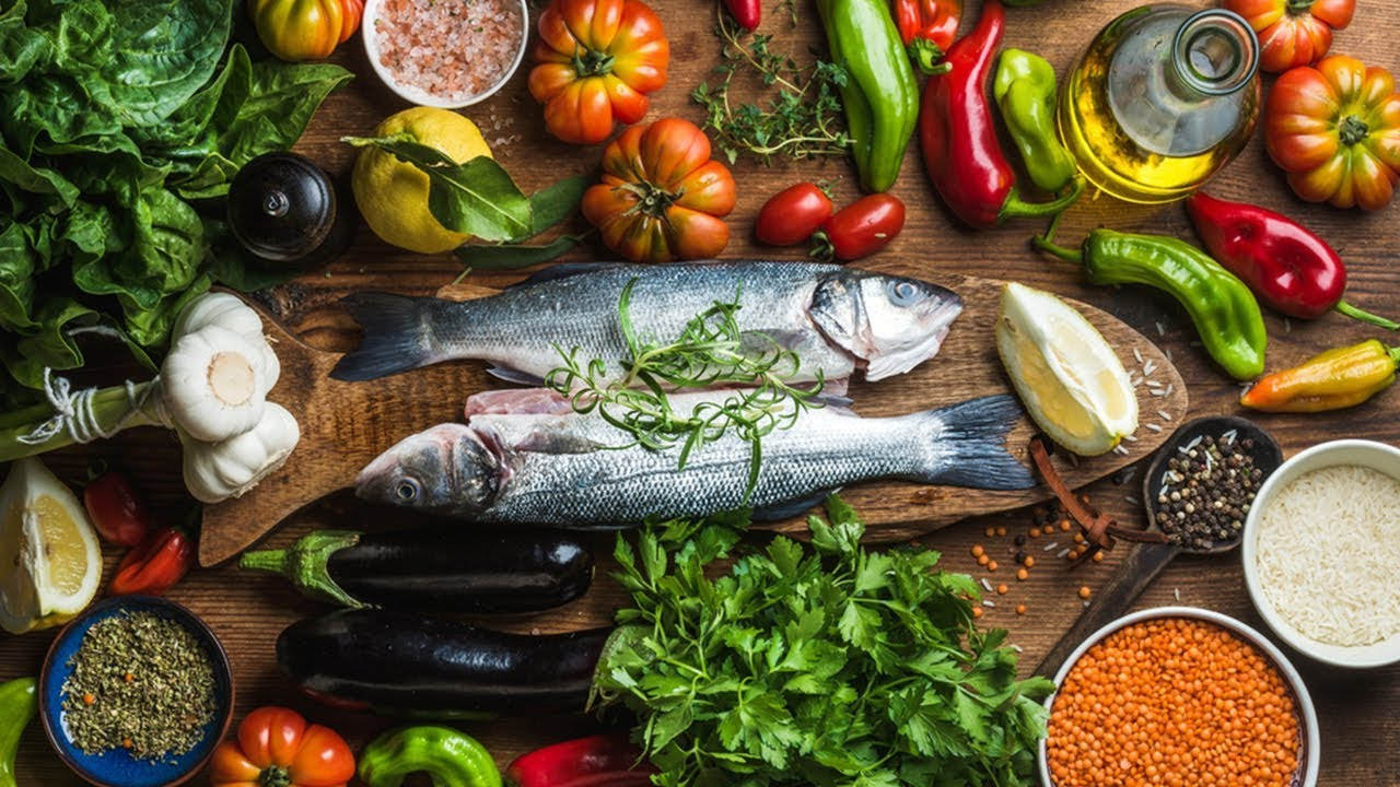 menù dietetico mediterraneo per una settimana