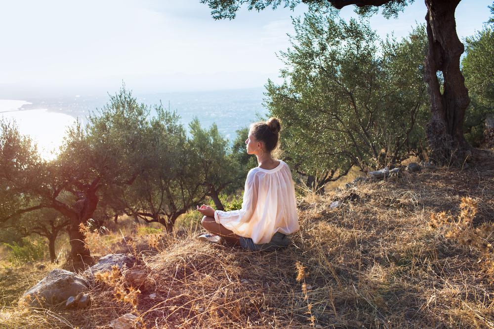 la meditazione guidata ti mette a contatto con la natura