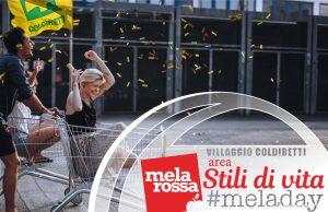 Melarossa e i suoi esperti al Villaggio Coldiretti