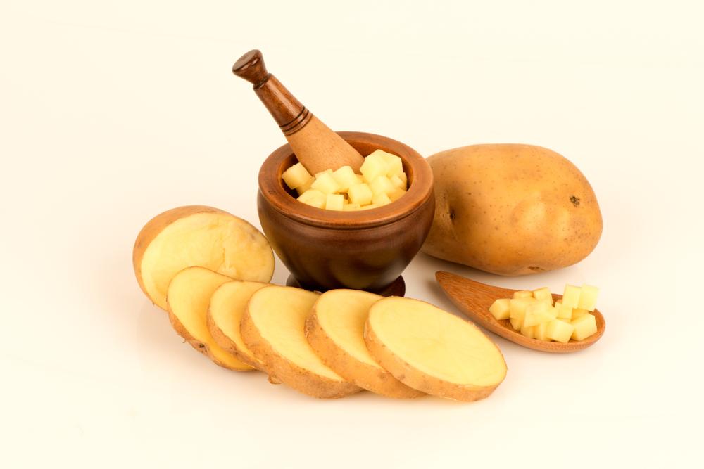occhi gonfi patate