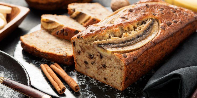 La ricetta del pane alle banane
