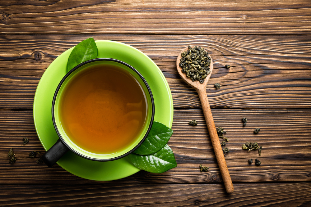 pelle perfetta col tè verde