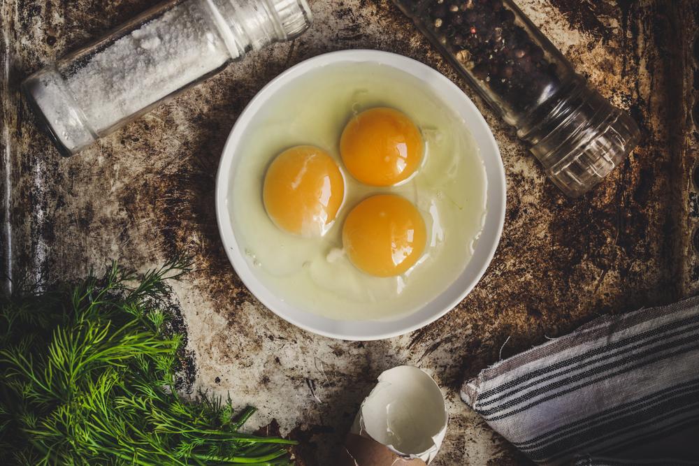 pelle perfetta col tuorlo d'uovo