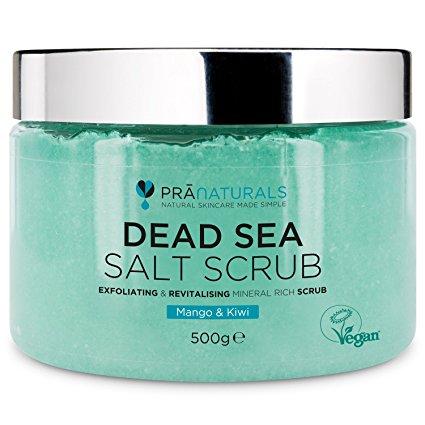 Scrub, Dead Sea Salt, Pranaturals