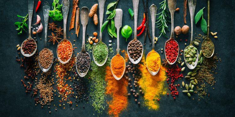 spezie: ricette che fanno bruciare calorie