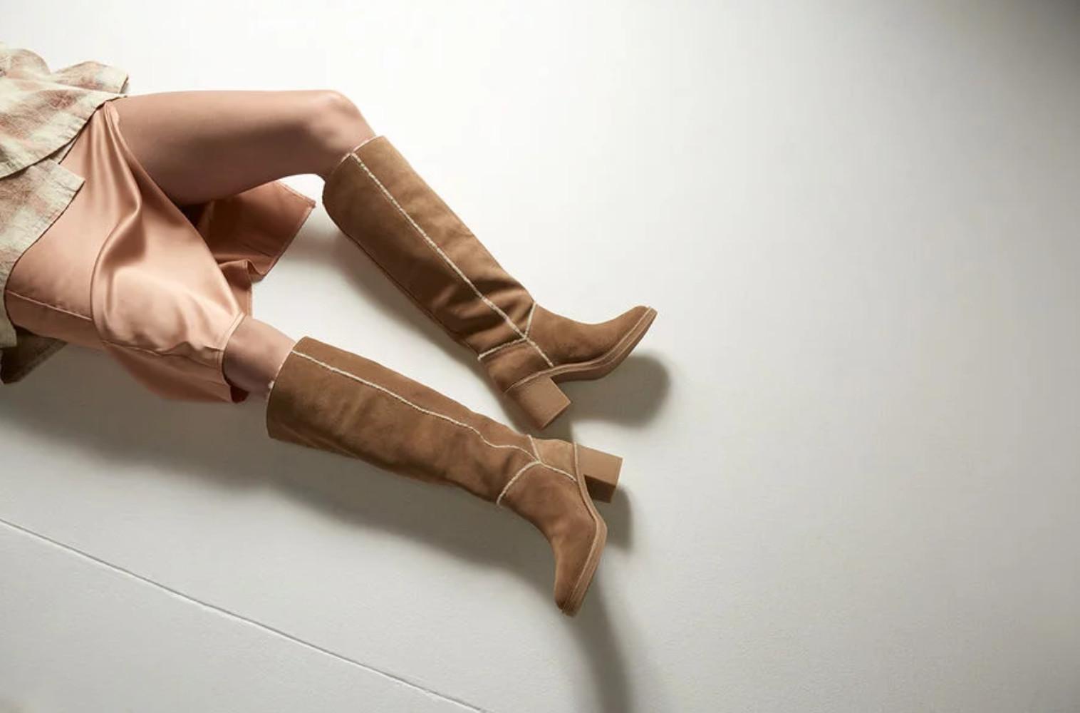 stivali ugg con tacco