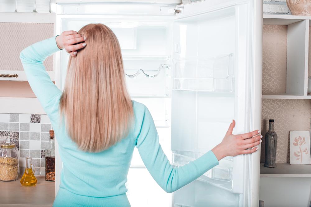 trucchi per mangiare sano frigo vuoto