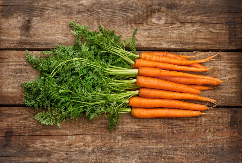 verdure di stagione, carote