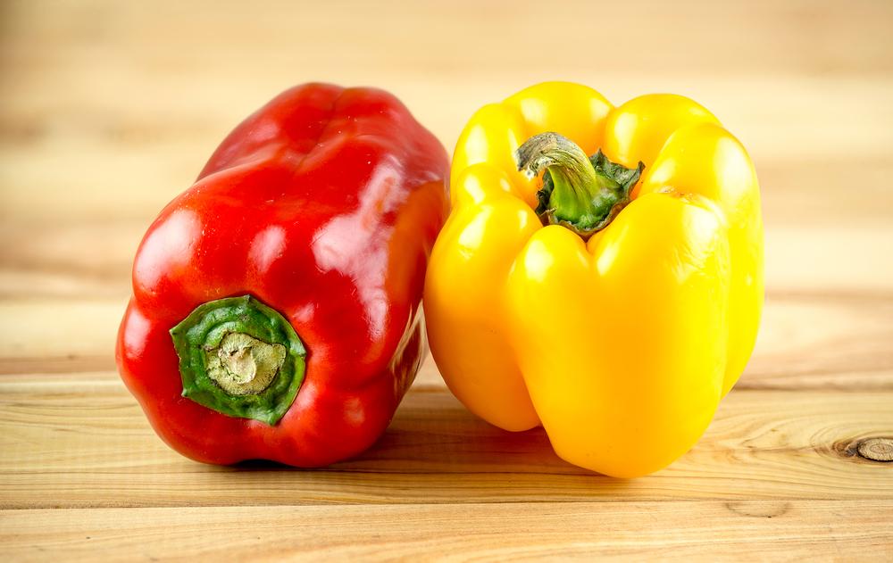 verdure di stagione, peperoni