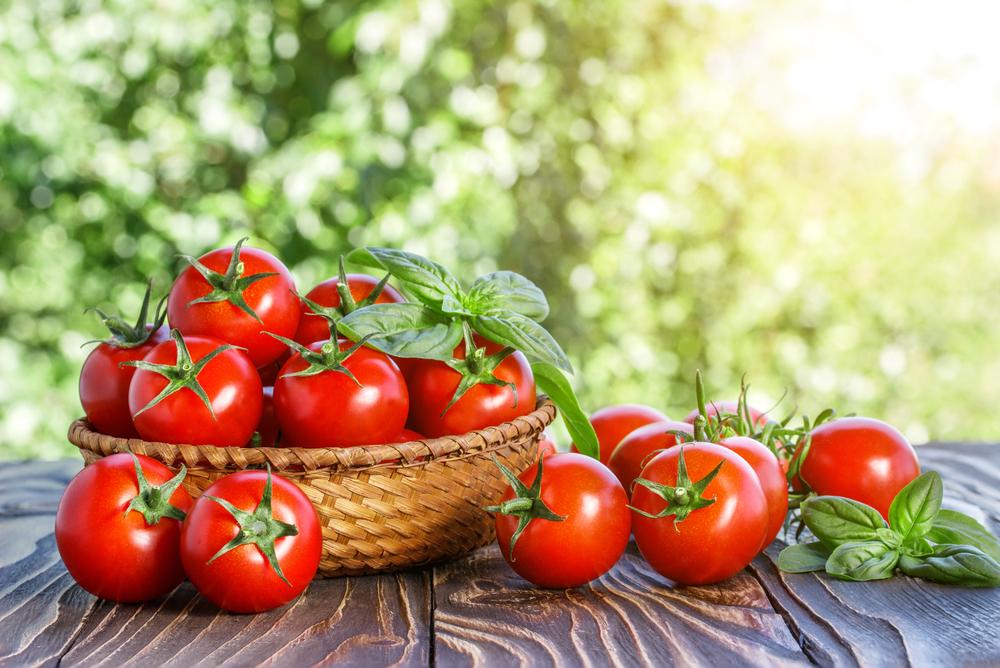 verdure di stagione, pomodori
