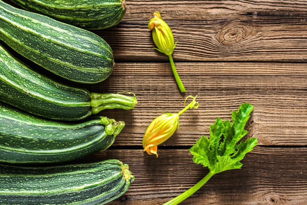 verdure di stagione, zucchine