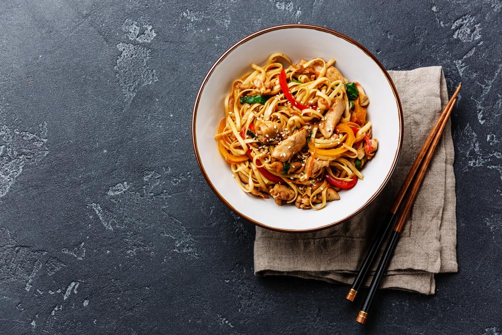 i noodles alimenti a meno di 100 calorie
