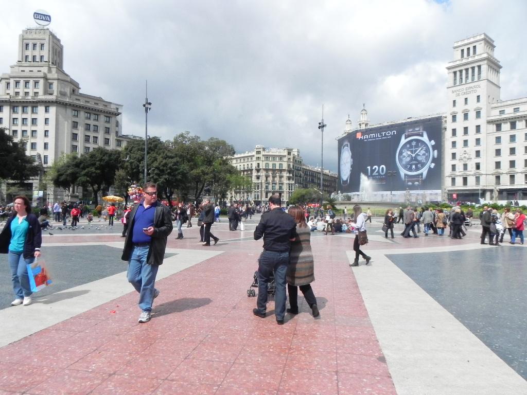 Piazza Catalogna, Barcellona