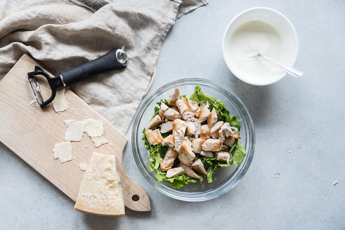 caesar salad di pollo  leggera