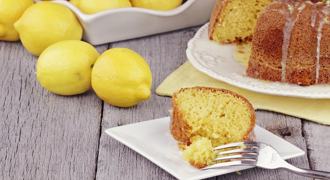 ciambellone al limone, ricetta light senza burro