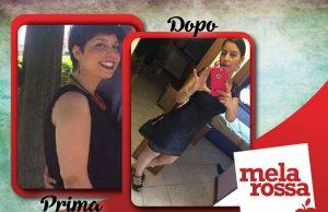 prima e dopo: Raffaella Iacullo perde 12 chili con Melarossa