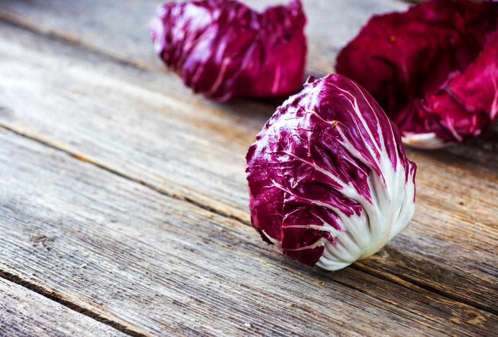 frutta e verdura di stagione: radicchio