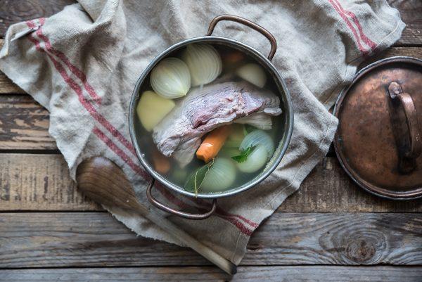 ricetta insalata di bollito con verdure