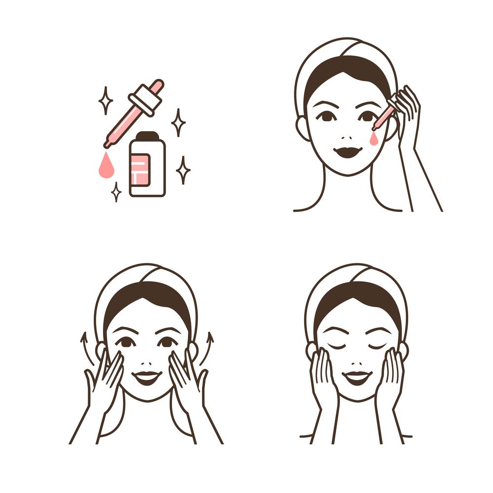 siero viso: come applicarlo