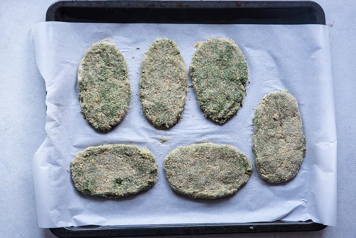 spinacine fatte in casa al forno