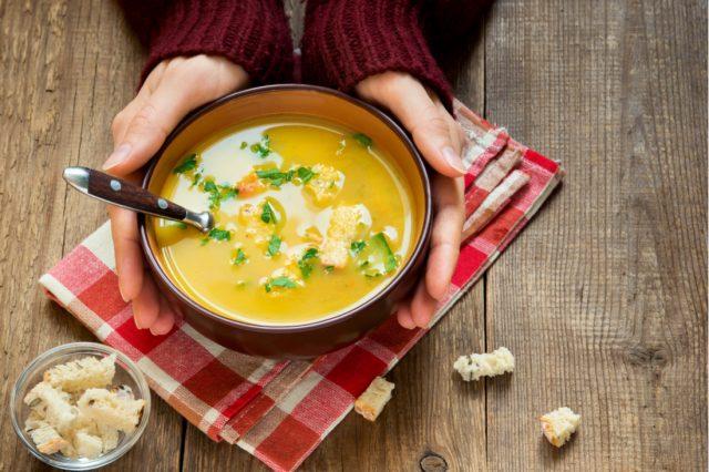 zuppe vellutate: ricette salutare se sei a dieta