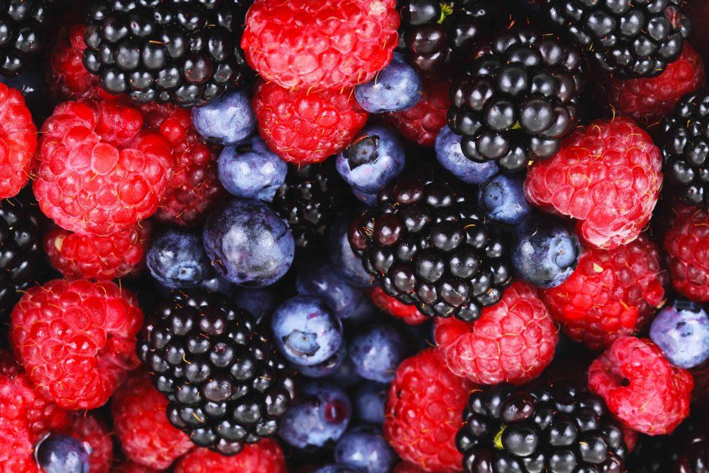 Alimenti per contrastare inquinamento: frutti di bosco