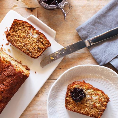 Banana bread senza glutine e senza lattosio, per una colazione sana e adatta a tutti!