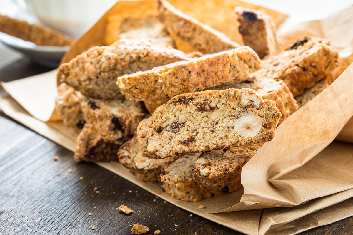ricette senza glutine: cantucci