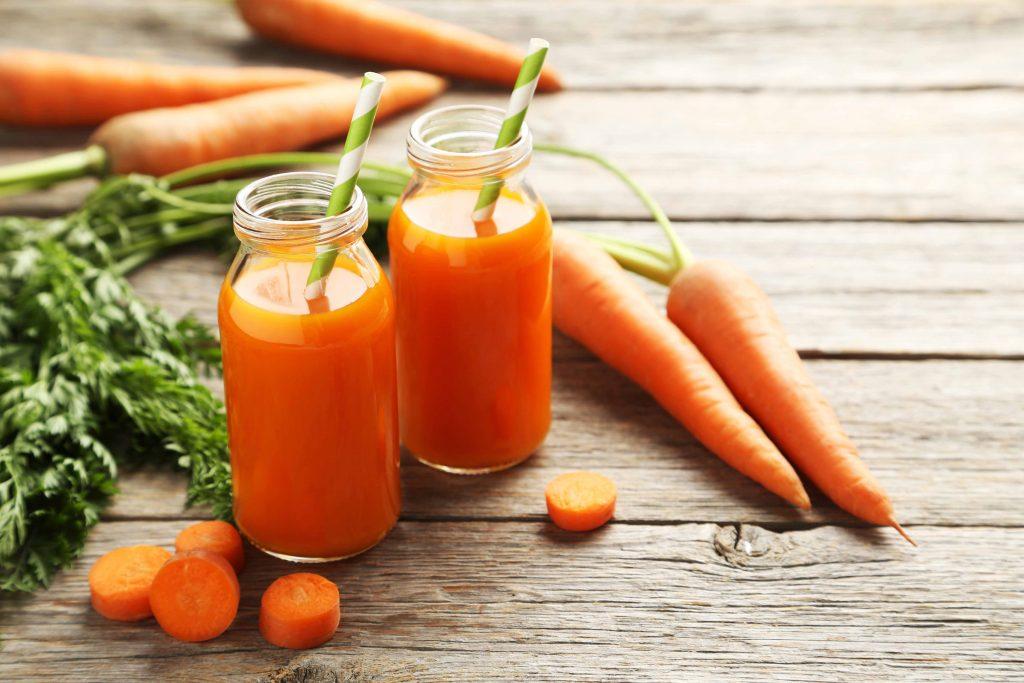 Alimenti contro lo smog: le carote