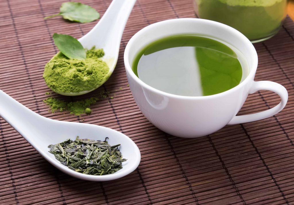 Alimenti che contrastano smog: thè verde