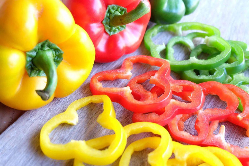 Alimenti contro lo smog: i peperoni