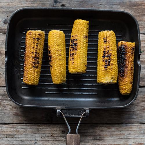 come si cucinano le pannocchie alla griglia