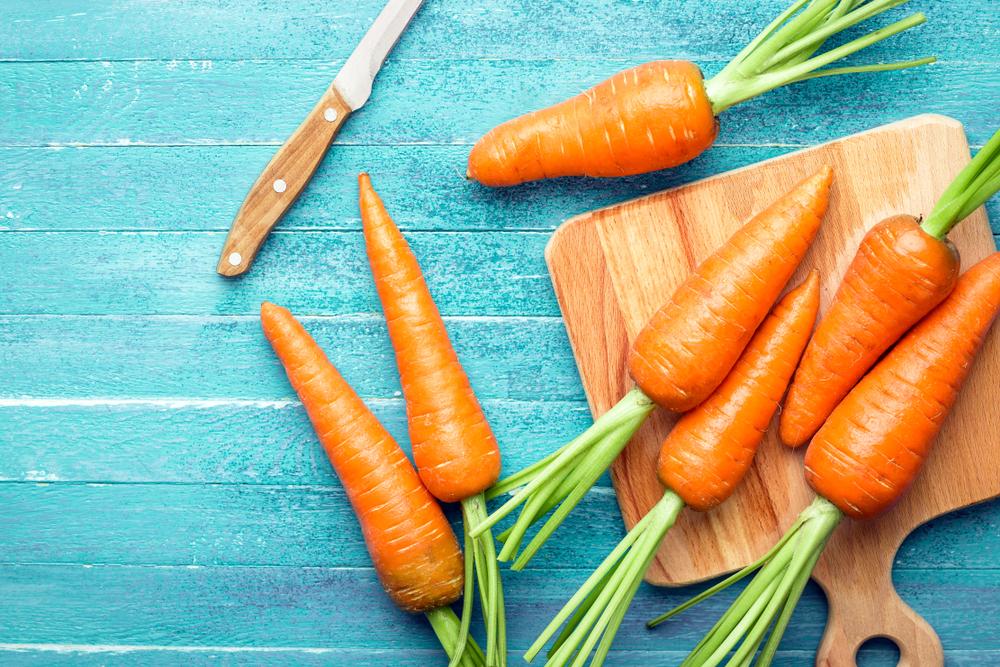 radici da mangiare carote