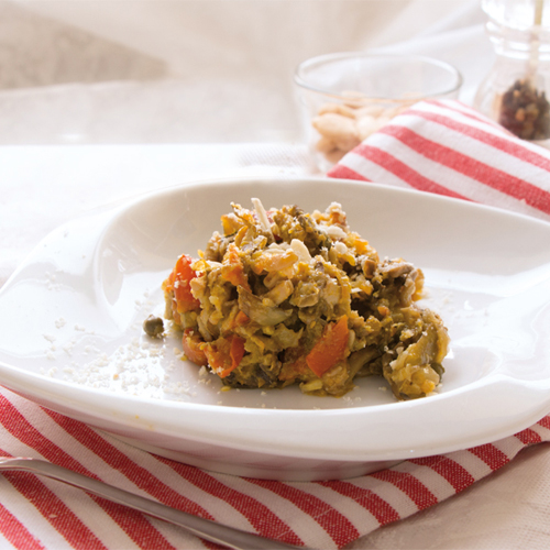 Gustosa e veloce da preparare, la ricetta delle seppie salata con verdure è light e senza glutine.