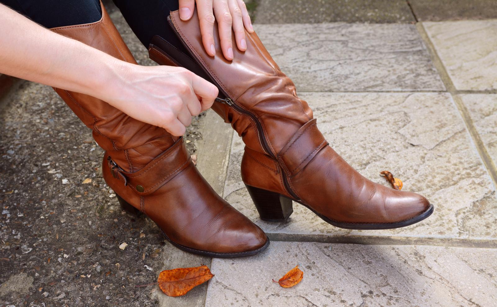 allargare stivali al polpaccio