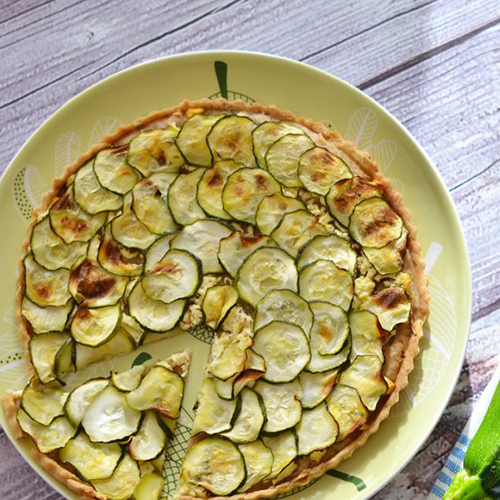 torta salata zucchine e orzo