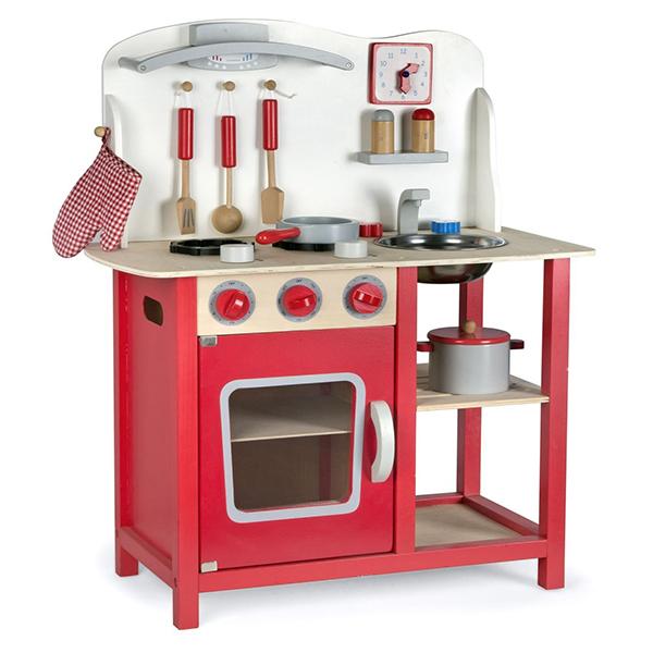regali di Natale per bambini: cucina di legno