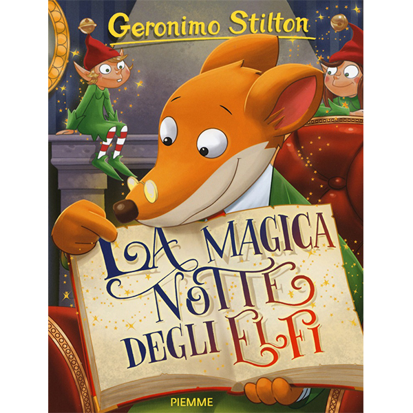 regali di Natale per bambini: libro Geronimo Stilton