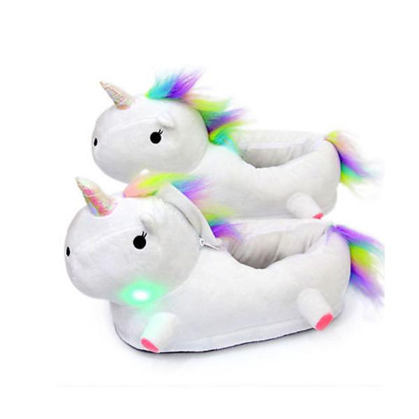 regali di Natale per bambini: ciabatte unicorno
